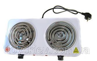 Электроплита двухконфорочная спираль  DOMOTEC MS-5802/ 3027 (6 шт/ящ)