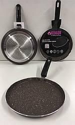 Сковорода блинная мрамор покрытие 24см  BN-509 (12)