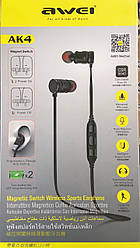 Наушники с микрофоном Bluetooth AWEI AK-4/ 5014 (60)