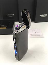 Электроимпульсная usb зажигалка с зарядкой от USB ZGP3 ART-5412 (100 шт/ящ)