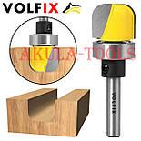 Пазовая фасонная галтельная фреза с подшипником VOLFIX для изготовления желобков тарелок чаш лотков подносов, фото 2