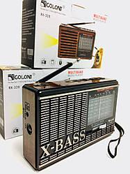 Радиоприемники GOLON RX 329, USB, SD (60 шт/ящ)
