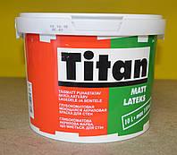 Глубокоматовая акриловая моющая краска для стен Matt Latexs база TR  Titan  Eskaro (2,25  л)