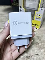 Универсальное быстрое зарядное устройство Адаптер Блок AR830 Quick Charge 3.0 4xUSB