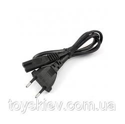 Сетевой шнур для радиоприемника, черный/тонкие ART-1288 (500 шт/ящ)