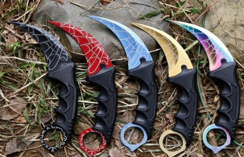 Нож керамбит CS GO в чехле