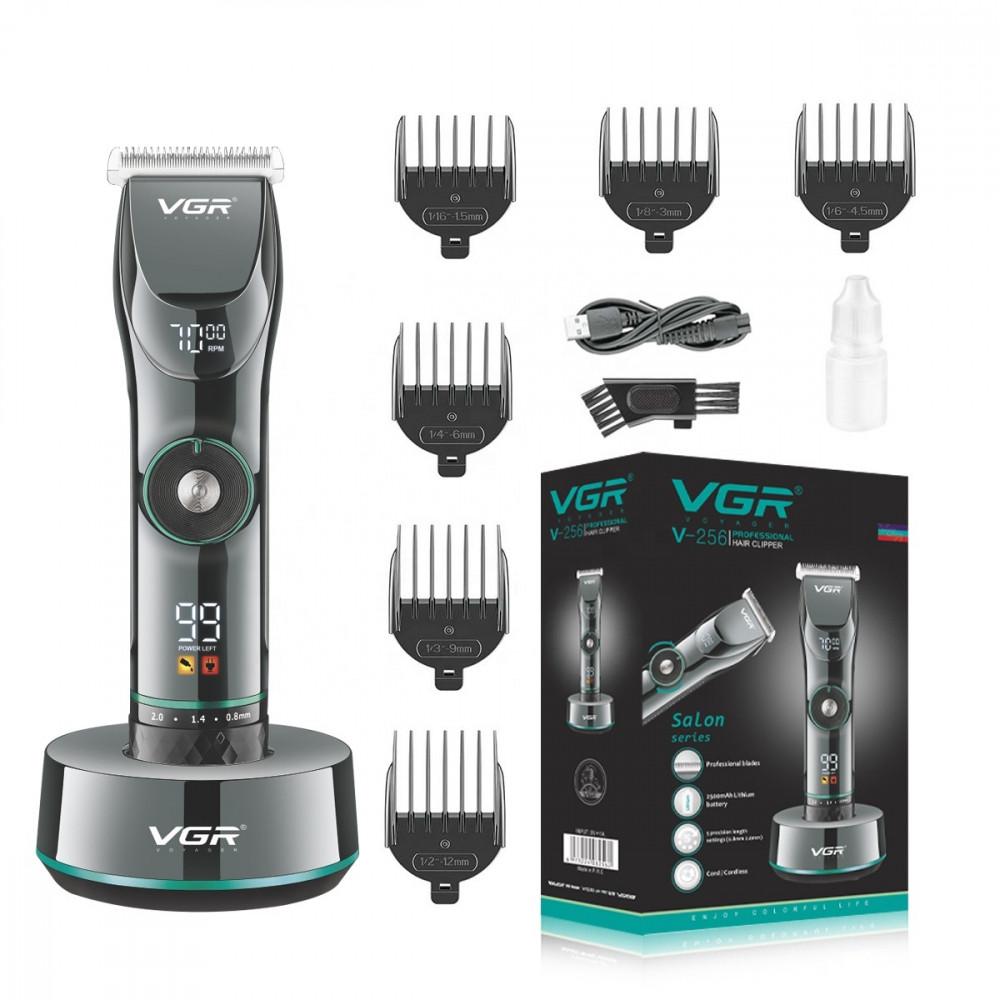 Профессиональная машинка для стрижки VGR V-256 набор парикмахерский
