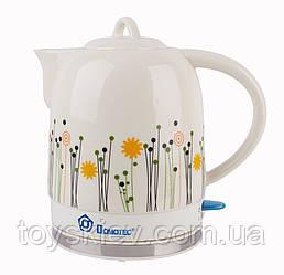Чайник керамичиский DOMOTEC 1,7L MS-5057 (8 шт/ящ)