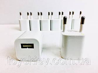 Сетевое зарядное устройство КУБИК MOD-3G /220v/1usb/1Am (1000 шт/ящ)
