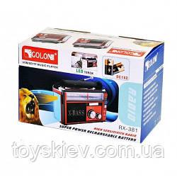 Радиоприемники-GOLON RX-382  USB+SD (36 шт)