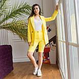 Шорты до колен и пиджак летний костюм двойка яркий женский (р. 42-48) 64101905, фото 4