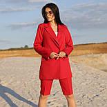 Шорты до колен и пиджак летний костюм двойка яркий женский (р. 42-48) 64101905, фото 6