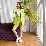 Шорты до колен и пиджак летний костюм двойка яркий женский (р. 42-48) 64101905, фото 7