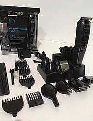 Машинка для стрижки волос+Бритва Триммер 5 in 1 GM-801 (40)