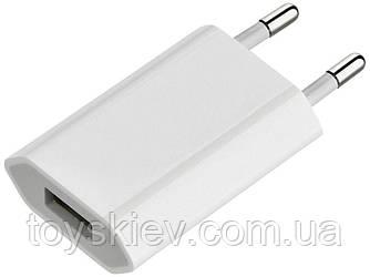 Сетевое зарядное устройство плоский ( 220v/1usb/1Am )