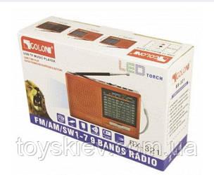 Радиоприемники-GOLON RX-321 (USB+SD)