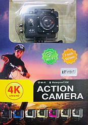DVR SPORT Экшн камера S2 WI FI waterprof 4K ART-S2/ 4184/7002 (20 шт)