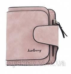 Женский замшевый кошелек Baellerry Forever Mini N 2346 Pink,Розовый (500 шт/ящ)