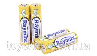 Батарейка Raymax Alkaline LR03  (техника/ААА/1.5V/4шт/ 40/ 1000)