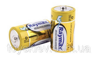 Батарейка Raymax Alkaline LR20 техника/D/1.5V/2шт/ 20/ (120 шт/ящ)