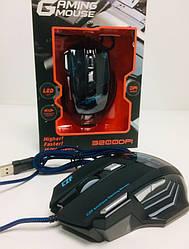 Игровая мышь проводная Gaming mouse LED ART 5180 (80 шт/ящ)