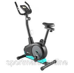 Велотренажер магнитный HS-2080 Spark Черно-бирюзовый