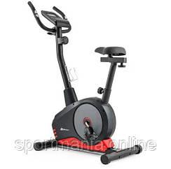 Велотренажер магнитный HS-2080 Spark Черно-красный