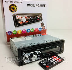 Автомагнитола MP3-6317BT RGB/Bluetooth (20 шт/ящ)