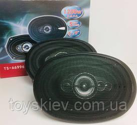 Автоколонки овальні TS-6996 MAX 1400W (6 шт/ящ)