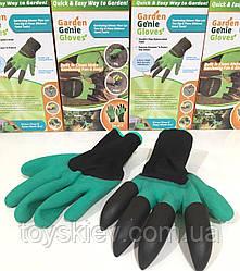 Cадовые перчатки с ногтями MOD-3665 (200 шт/ ящ)