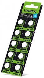 Батар часов Videx AG 13 (LR44) BLISTER CARD 10pcs