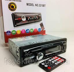 Автомагнитола MP3-3215BT RGB/Bluetooth  (20 шт/ящ)