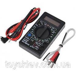 Мультиметр тестер вольтметр амперметр DT-838 + термопара (60-100 шт/ящ)