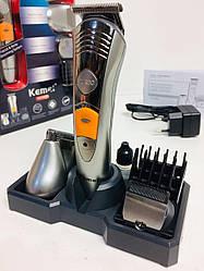 Машинка для стрижки волос+Бритва Триммер 7 in 1 KM-580A/ 2037 (40 шт/ ящик)