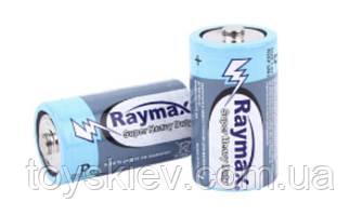 Батарейка Raymax  R20  (техника/D/1.5V/2шт/ 24/ 288)