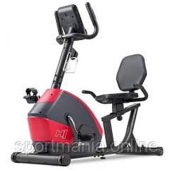Горизонтальный велотренажер магнитный HS-035L Solo Красный