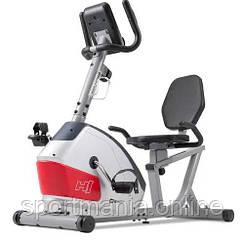 Горизонтальный велотренажер магнитный HS-035L Solo Серебристый