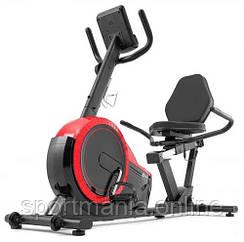 Горизонтальный велотренажер магнитный HS-060L Pulse 2020 Красный