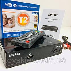 Тюнер DVB-T2 U006 METAL  BIG MG 812 с поддержкой WiFi адаптера (20 шт/ящ)