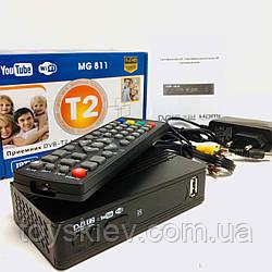Цифровой эфирный приемник TV тюнер T2 MG 811 Megogo (40)