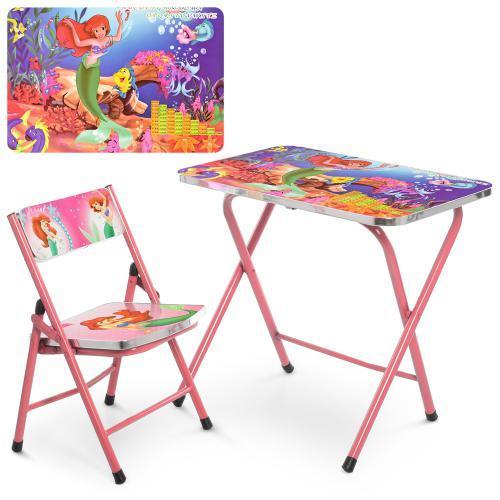 Столик і стільчик дитячі A19-MERM складаний, DPM