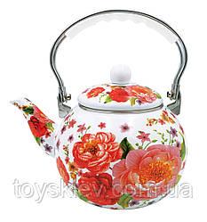 Эмалированный чайник, бакелитовя ручка 2.5 л BN-110 (18)