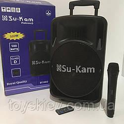 Портативна колонка SU-KAN BT-100 D+1 mic+ BT (1 шт/ящ)