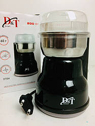 Кофемолка DT-594 измельчитель нержавеющая сталь 200Вт (24 шт/ящ)