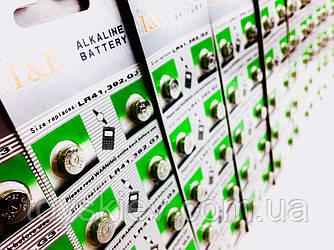 Часовые батарейки T&E AG-3