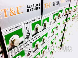Часовые батарейки T&E AG-4