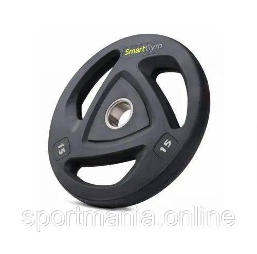 Набор дисков олимпийских SmartGym 2x15 кг Черный