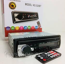Автомагнитола MP3-520 BT RGB/Bluetooth (20 шт/ящ)
