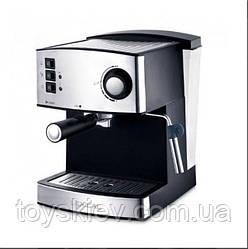 Кофемашина полуавтомат кофеварка Espresso с капучинатором Lexical LEM-0602 (4 шт/ящ)
