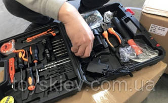 Шуруповерт аккумуляторный в кейсе С 157 (5 шт/ящ)